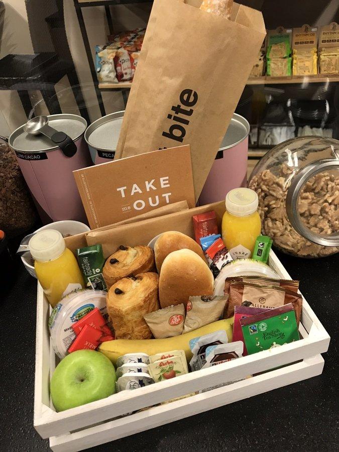 Breakfast basket @ Home